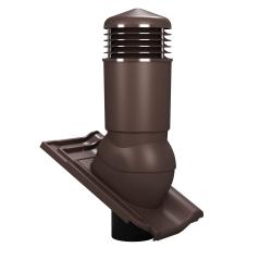 KOMINEK WENTYLACYJNY fi 125 mm do dachówek (OCIEPLONY) betonowych i ceramicznych