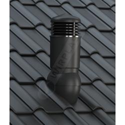 KOMINEK WENTYLACYJNY do dachówek betonowych i ceramicznych fi 125 mm ocieplony