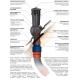 KOMINEK na GONT PAPĘ BLACHĘ fi 125 mm z odprowadzeniem kondensatu skroplin