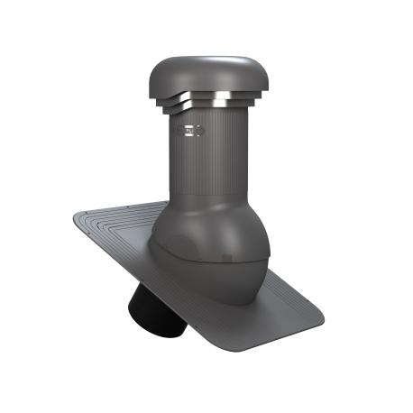 KOMINEK wentylacyjny fi 125 mm pod papę gont Wirplast