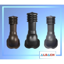 KOMINEK WENTYLACYJNY do blachodachówki fi 125 z odpływem kondensatu z poziomicami