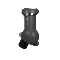KOMINEK wentylacyjny fi 150 mm na papę gont z odprowadzeniem kondensatu Wirovent pro